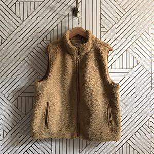 J. Crew Factory Sherpa Vest